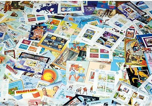 Goldhahn 333 Blocks im 60-Seiten Einsteckalbum Briefmarken für Sammler