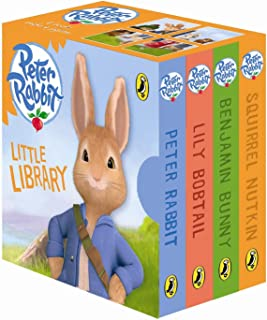 Peter Rabbit Little Library for Little Hands The Cartoon Age Range: 2 - 5 years