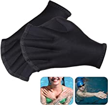Guante de natación, guantes Aquatic, Almohadillas de swimp, Para una resistencia superior, sin decoloración, tallaen Hombre mujeres adultos niños idealfr Aeróbicos acuáticos, nadar, Aqua Zumba