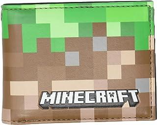 Minecraft Earth Pixels Bi-Fold Wallet Multi-Colored Licensed