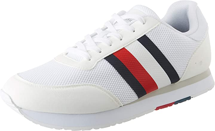 Sneakers tommy hilfiger corporate material mix runner scarpe tommy hilfiger FM0FM02056