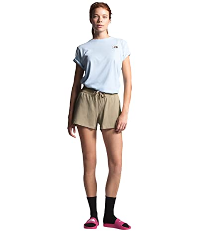 The North Face Aphrodite Motion Shorts (Twill Beige) Women