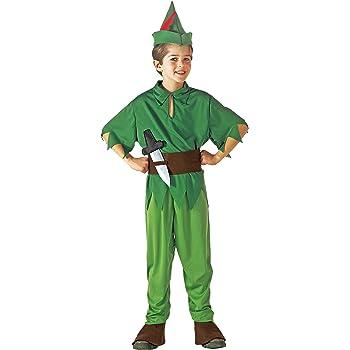 WIDMANN Disfraz de Peter Pan para niños de 11 a 13 años, 158 cm ...