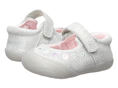 Stride Rite SR Mira (Infant/Little Kid) (Silver) Girls Shoes