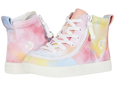 BILLY Footwear Kids Classic Lace High (Toddler) (Sherbert Tie-Dye) Girl