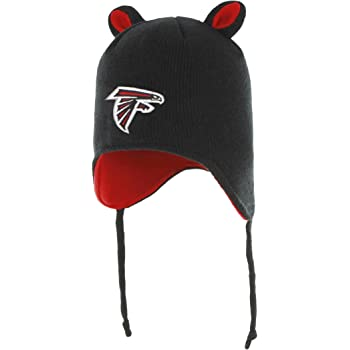 OTS NFL Atlanta Falcons Toddler Scalywag Knit Cap with Ears Toddler Team Color