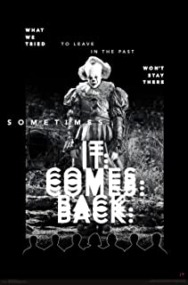 """Trends International IT IT Chapter 2 - Back Wall Poster, 22.375"""" x 34"""", Multi"""