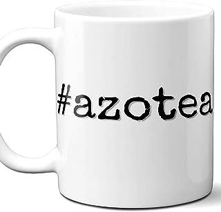 #azotea Azotea Hashtag Gift Coffee Mug, Cup. 11 Ounces.
