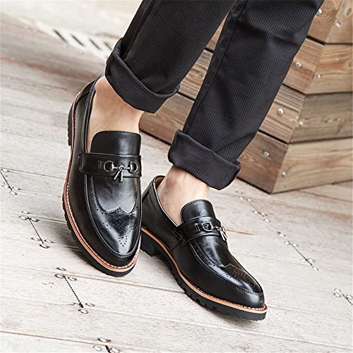 Une affaire d'hommes souliers bullock chaussures chaussures chaussures mode rétro hommes,noir,quarante - quatre