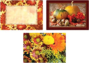 Hoffmaster 702081 Multipack Placemats Autumn