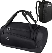 MATEIN Gym Bag for Men, Large Gym Backpack Sports Bag with Shoes Compartment, 3 Way Waterproof Workout Duffel Travel Duffl...