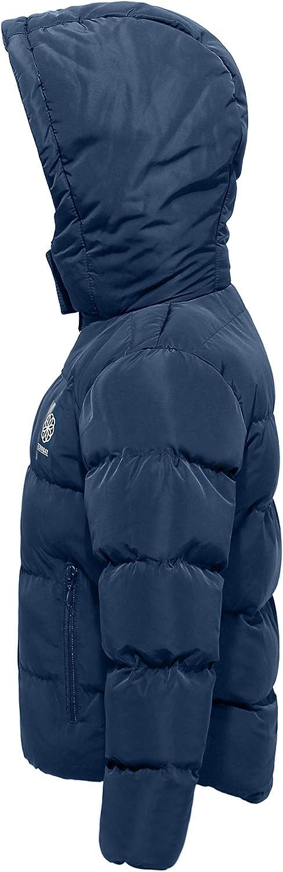 Ternbay Manteau dhiver Chaud pour Enfants avec Capuche en Duvet