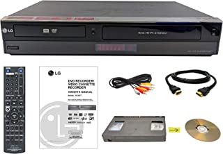 LG VHS to DVD Recorder VCR Combo w/ Remote, HDMI