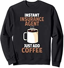 Best Insurance Agent Coffee Lover Gift Funny Coffee Humor Sweatshirt Review