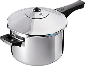 Kuhn Rikon Duromatic Stainless-Steel Saucepan Pressure Cooker – 7.4-Qt