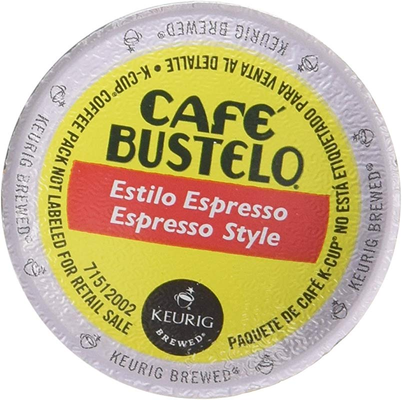 Keurig Cafe Bustelo Coffee Espresso K Cups Cuban 36 Count
