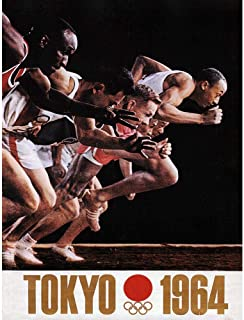 Advert Sport Exhibition Olympic Games Tokyo 1964 Art Print Poster Wall Decor 12X16 Inch 広告スポーツ展覧会オリンピックゲーム東京ポスター壁デコ