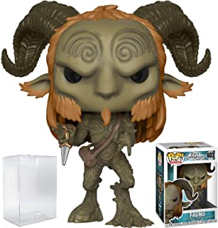 Funko Pop! Horror: Pan's Labyrinth - Fauno Vinyl Figure (Bundled with Pop Box Protector Case)