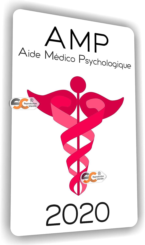 """SC ® - Sticker/Autocollant"""" Caducée - Infirmière - AMP - Aide Soignante -  Aide à Domicile - Auxiliaire de Vie - ASH - Fabrication Française  (Etudiante"""