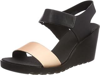 ECCO Freja Womens Wedge Sandal,Pink,Size40