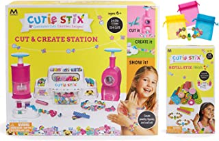 Cutie Stix Maya Toys Cut & Create Station Plus Refill Set and Bags for Jewelry Making
