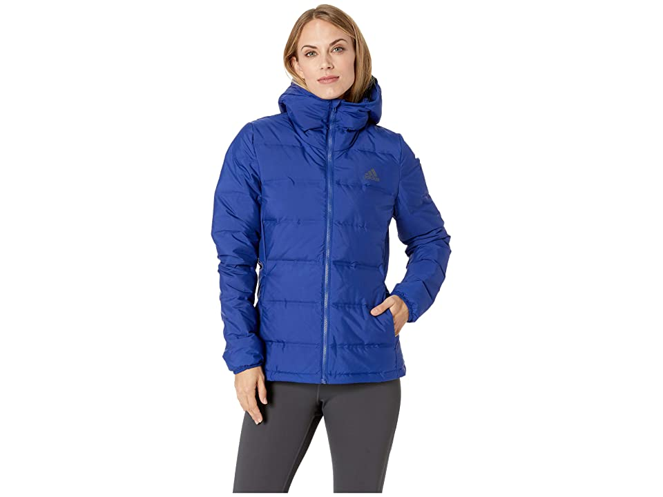 adidas Outdoor Helionic Hooded Jacket (Mystery Ink) Women