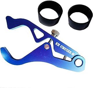 EZ Cruize - Motorcycle Cruise Control - Universal Throttle Assist - Wrist / Hand Grip Lock Clamp - Compatible with Harley, Honda, Suzuki, Yamaha, Kawasaki, Indian, Triumph, Ducati, Aprilia (Blue)