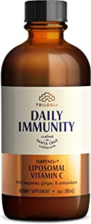 Liposomal Vitamin C - Liquid 1000mg Immune Support Antioxidant Supplement Sunflower Lecithin, Immunity Boos...