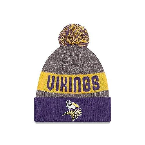 6756e322 Vikings Winter Hat: Amazon.com