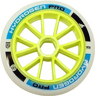 Rollerblade Ruedas Hydrogen Pro 125MM XX-Firm (6), Adultos Unisex, Azul, Talla Única