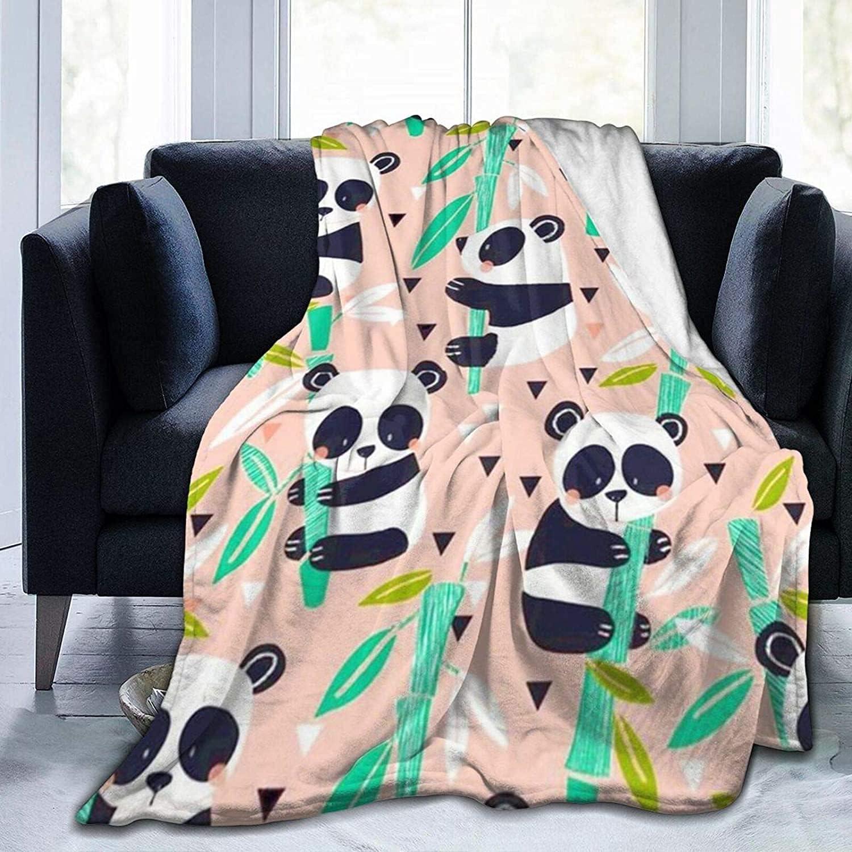Panda quality assurance Background Super Soft Fleece Durable Weekly update Blanket Throw
