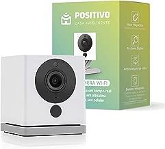 Smart Câmera Wi-Fi, Positivo Casa Inteligente, 1080p FullHD, ângulo amplo de 110 graus, Áudio bidirecional, Controlado via celular, fácil instalação, compatível com Alexa