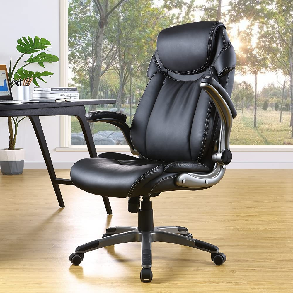 OWLN PHILI High Back Executive Computer Chair Leather Complete Free Shipping Office Las Vegas Mall Cha