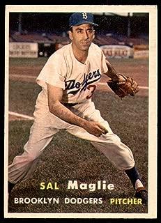 Baseball MLB 1957 Topps #5 Sal Maglie Excellent Dodgers