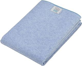 西川(Nishikawa) 寝具用除湿シート ブルー 90×180cm 除湿 消臭 吸水性 防ダニ 防カビ 洗える シリカゲル入り 5JS038 S