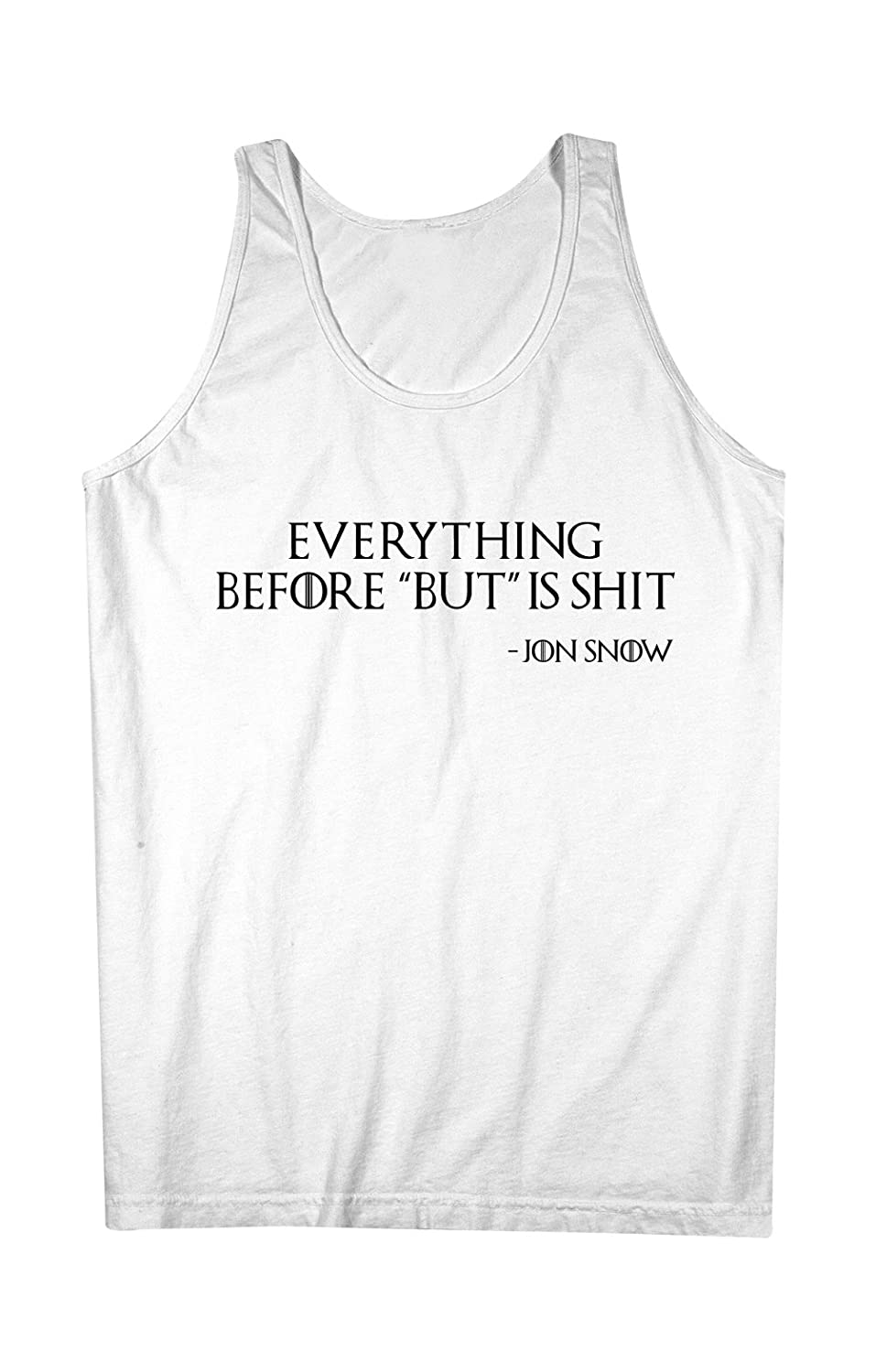 Everything Before But Is Sh*t Jon Snow 男性用 Tank Top Sleeveless Shirt