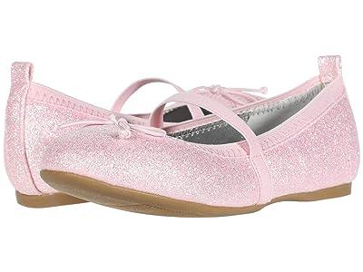 Nina Kids Esther-T (Toddler/Little Kid) (Pink Embossed) Girls Shoes