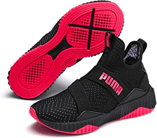 PUMA DEFY MID WN's Women's Fitness & Cross Training Shoes, Black-Pink Alert
