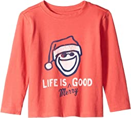 Life is Merry Good Crusher T-Shirt Long Sleeve (Toddler)