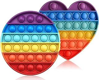 ZENFOCUS Pop Bubble, Pop it, Push Pop Bubble sensoriel,Push Pop, Bubble pops, Fidget Toys Pack, Fidget Toy Sensory, Cube A...