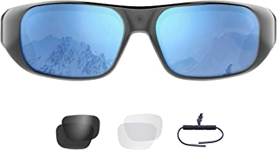 Waterproof Video Sunglasses,64GB Ultra 1080P HD Outdoor Sports Action Camera and 4 Sets..