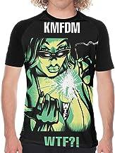 KMFDM WTF Men's Baseball T Shirt Short Sleeve Round Neck T-Shirt