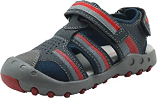 Ying-xinguang Kid's Shoe Casual Boys' Closed Toe Non-Slip Outdoor Sports Sandals for Kids Athletic Beach & Pool Sneakers Comfortable