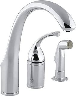 KOHLER K-10430-CP Forte Kitchen Sink Faucet, Polished Chrome