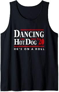 Dancing Hot Dog 2020 - Hot Dog Meme Filter Tank Top