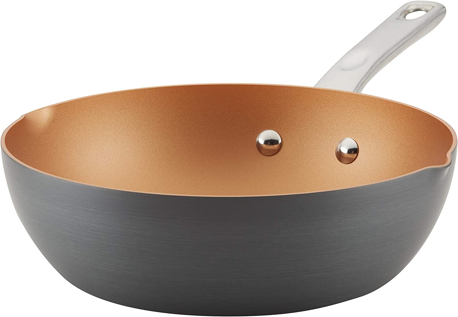 Ayesha Home All items free shipping Collection Hard-Anodized Pan Max 55% OFF Aluminum Nonstick Chef