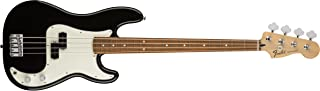 Fender 4 String Standard Precision Electric Bass Guitar-PAU Ferro Fingerboard, Black (146103506)