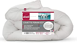 Abeil Couette Feran Ice Douceur et Fraicheur Blanc 220 x 240 cm, fabriquée en France