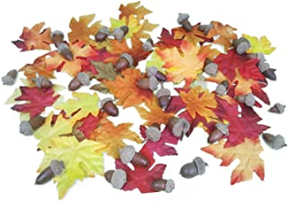Nikki's Knick Knacks Artificial Fall Maple Leaves and Acorns