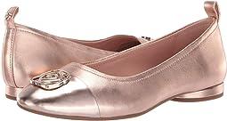1b0e23dbf7c Taryn rose bryan champagne metallic nappa